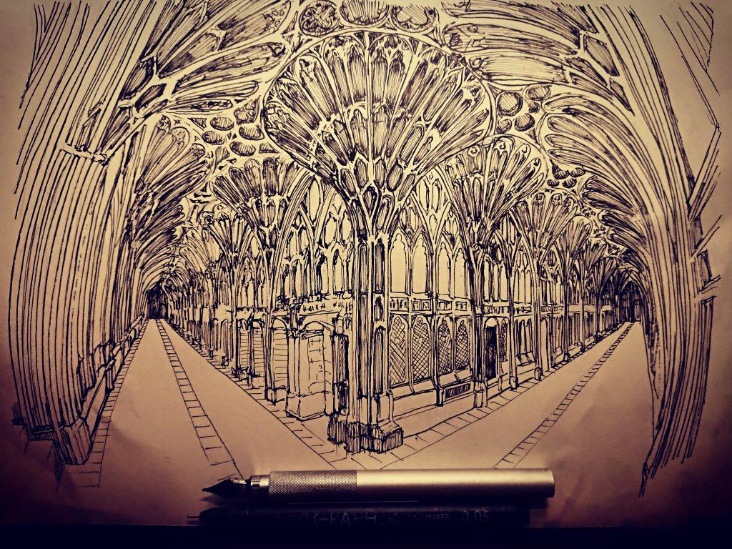 Andrea Ursini passione per il disegno architettonico