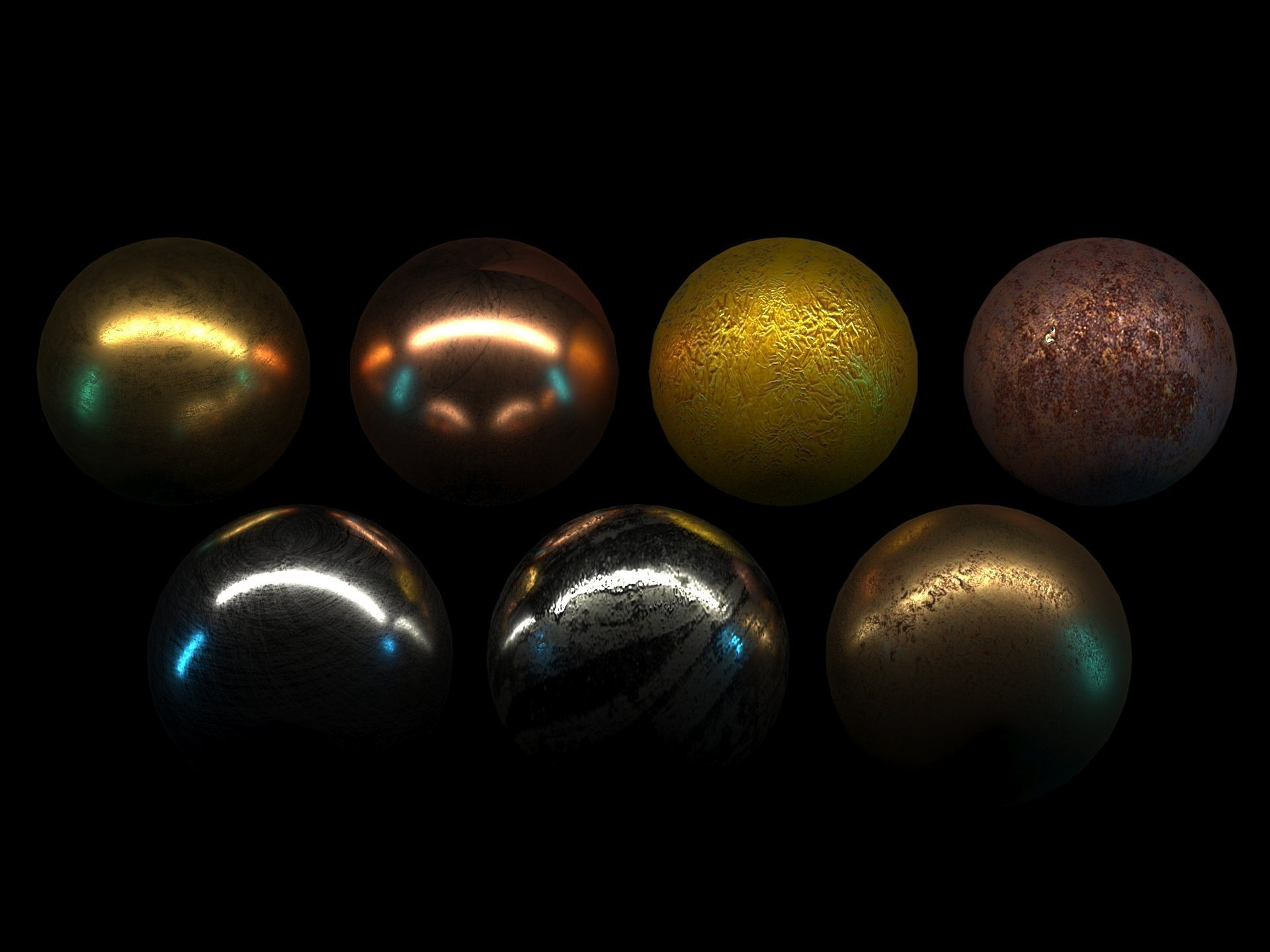 Andrea Ursini Metalli fotorealistici